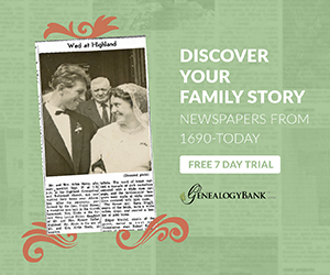 Discover Your Family Story - Free 7 Day Trial