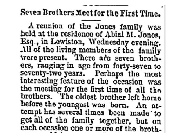 Source: GenealogyBank, Huntsville Gazette (Huntsville, Alabama), 5 November 1881, page 4