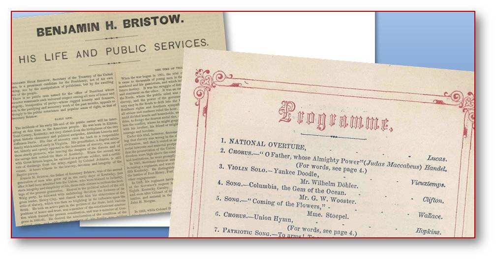 Benjamin Bristow Concert Program & Biography