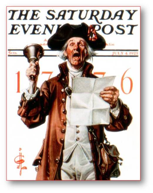 The Saturday Evening Post Newspaper