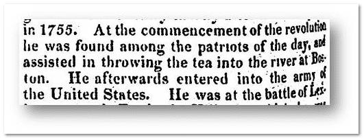 John Peters Obituary - Boston Tea Party - Alexandria Gazette Newspaper
