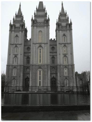 photograph of Salt Lake Temple, Church of Jesus Christ of Latter-day Saints, Salt Lake City, Utah