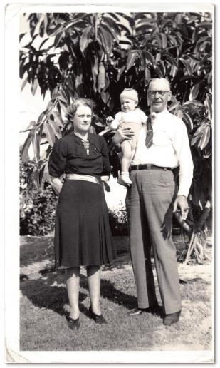 vintage family photograph