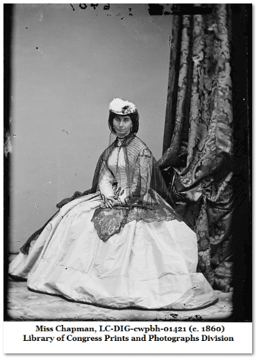 photograph of Miss Chapman