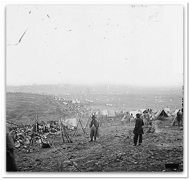 photo of the Battle of Nashville, 16 December 1864. Credit: Library of Congress.