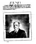 Gustave Anjou's passport photo (1924)