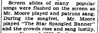"""The Star-Spangled Banner,"" Daily Register-Gazette newspaper article 2 January 1930"