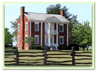 photo of Cherokee Chief James Vann's house