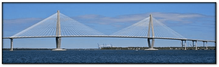 photo of the Ravenel Bridge in Charleston, South Carolina
