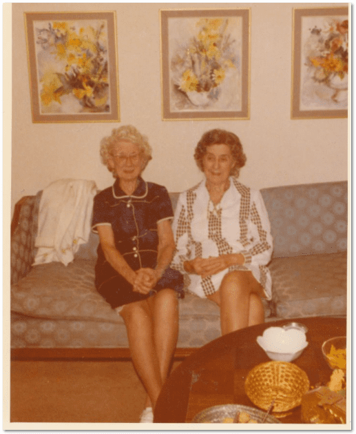 photo of Rose Cottle Martin Jones and Ina Cottle Phillips