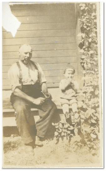 photo of Scott Phillips's father and uncle