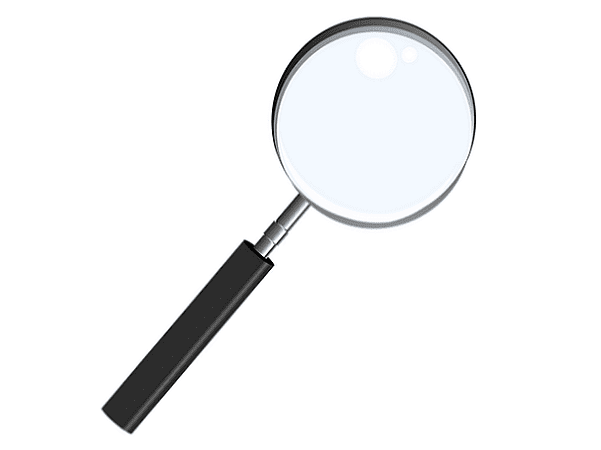 Illustration: magnifying glass