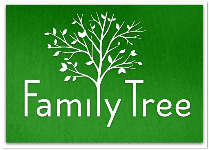 "logo for HBO's new series ""Family Tree"""