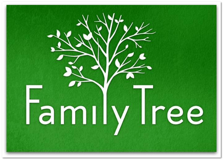 "logo for HBO's new series ""Family Tree"""