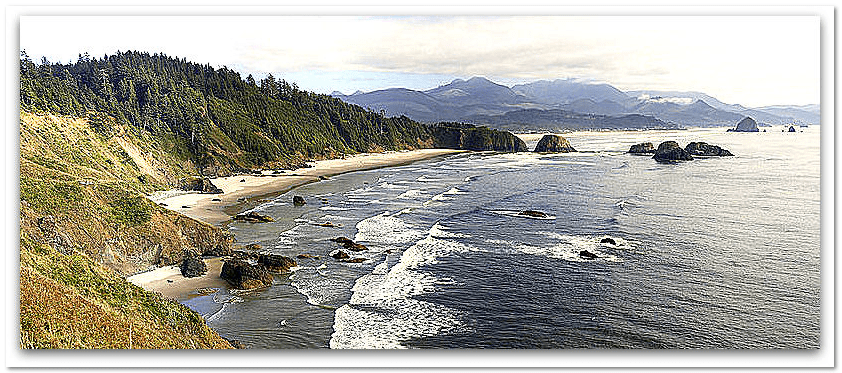 photo of the Oregon coast
