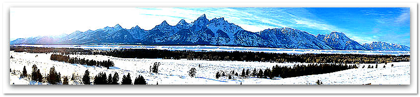 photo of the Teton Range, Grand Teton National Park, Wyoming