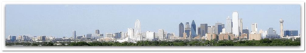 photo of the Dallas, Texas, skyline