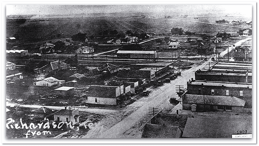 photo of Richardson, Texas, circa 1923
