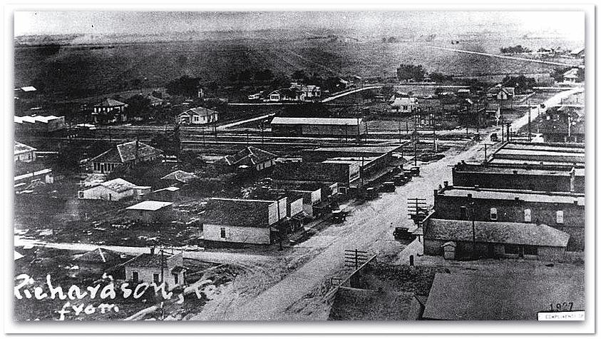 photo of Richardson, Texas, circa 1923