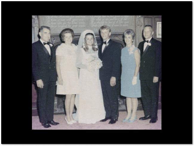 photo of the Phillips-Tressel wedding