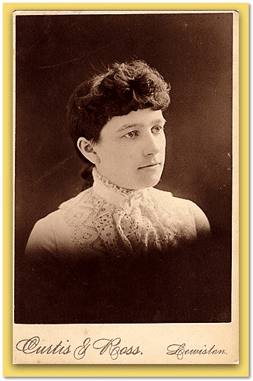 photo of Madge Richmond as a young woman
