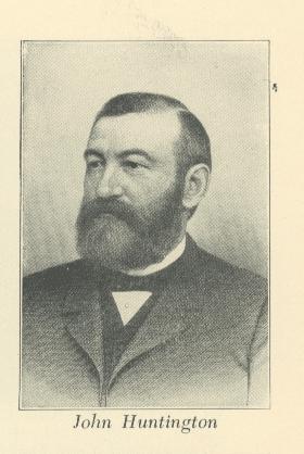 portrait of philanthropist John Huntington