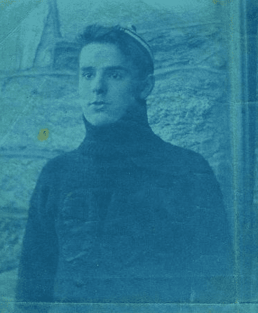example of a Cyanotype photograph