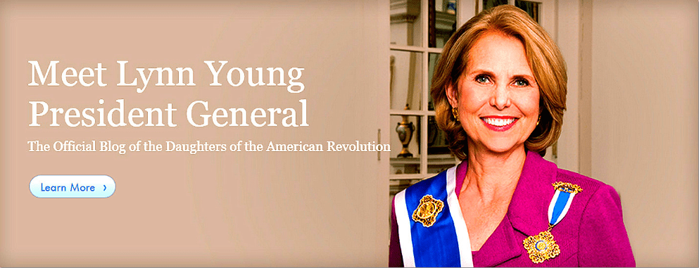 photo of Lynn Young, president general of the Daughters of the American Revolution