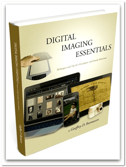"cover of book ""Digital Imaging Essentials"" by Geoff Rasmussen"