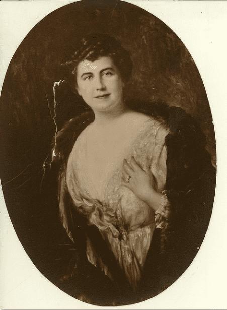 photo of First Lady Edith Bolling Galt Wilson, married to U.S. President Woodrow Wilson