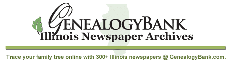 Illinois Newspaper List for Genealogy
