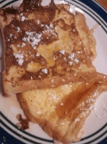 "photo of the Pinterest pin for ""Zesty Orange French Toast"""