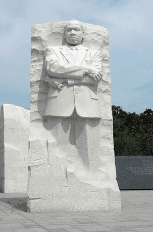 a photo of the Martin Luther King, Jr. National Memorial