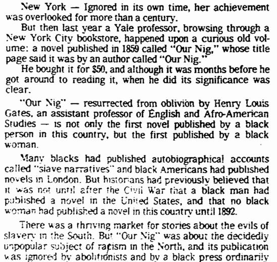 article about Harriet Adams Wilson, Omaha World Herald newspaper article 15 November 1982