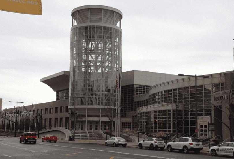 photo of the Salt Palace Convention Center, Salt Lake City, Utah