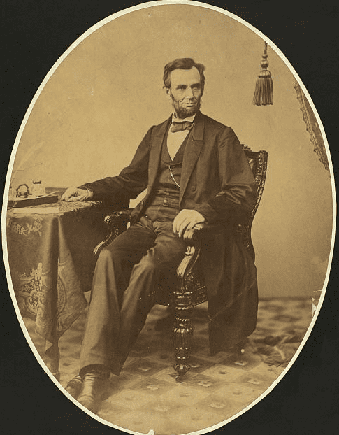 photo of President Abraham Lincoln, 8 November 1863