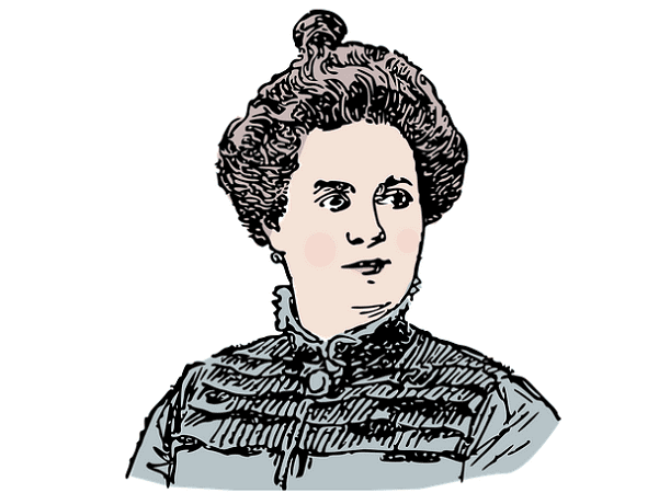 Illustration: picture of a woman