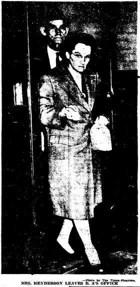 photo of Flossie Sula Cothern, Times-Picayune newspaper article 19 November 1946