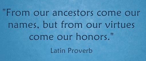 101 Ancestor Quotes From Around The World Genealogybank