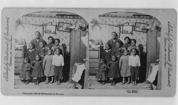 photo of a family portrait c.1890