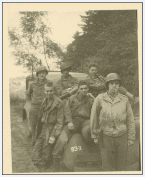 photo of U.S. troops in Europe during WWII