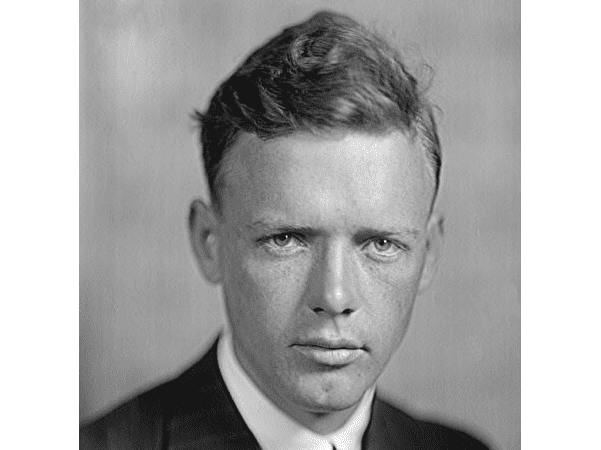 Photo: Charles Lindbergh. Credit: Harris & Ewing; Library of Congress, Prints and Photographs Division.