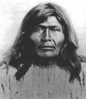 photo of Chiricahua Apache Chief Victorio, c.1875