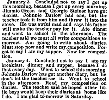 extract from Robert Cummings's diary, Portland Daily Press newspaper article 20 March 1880