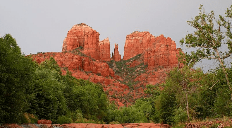 photo of Cathedral Rock in Arizona