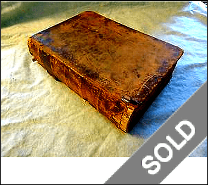 photo of a family Bible first owned by William Richmond