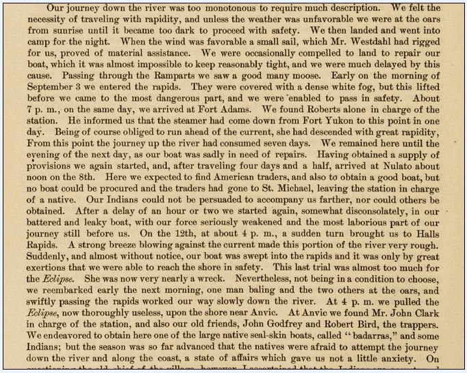 Compilation of Narratives of Explorations in Alaska 18 April 1900