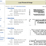 Poems & Songs Historical Newspaper Search Results Genealogy Bank
