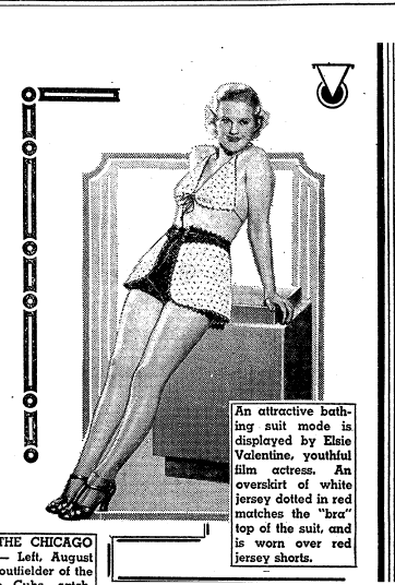 great grandmother s swimsuit in vintage fashion articles