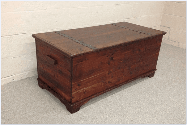 photo of a cedar chest
